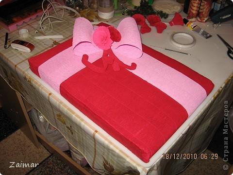Такую упаковку я сделала для подарка воспитателю в детском саду сына.  фото 1