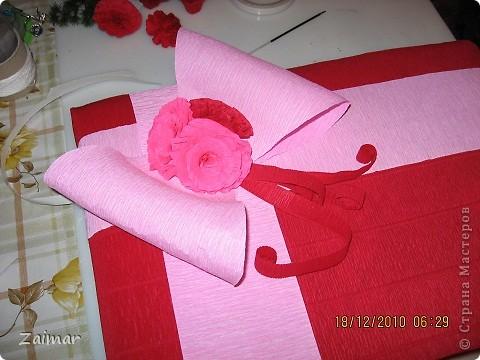 Такую упаковку я сделала для подарка воспитателю в детском саду сына.  фото 3