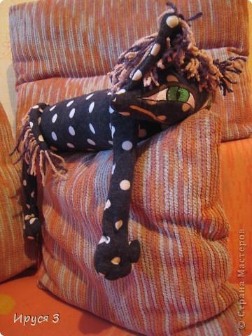 Кошечка в горошек фото 7