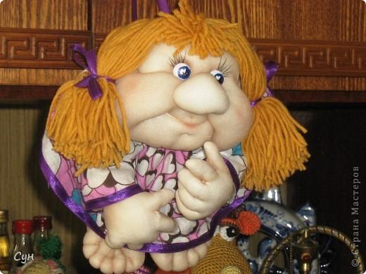 Мои первые куколки на удачу. Эта скромница - моя. Висит на самом видном месте, и пользуется уважением всей семьи. фото 1