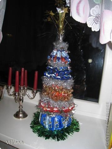 Такие ёлочкие я сделала в подарок своим родственникам и друзьям на Новый Год:))))))))))))))))) фото 1