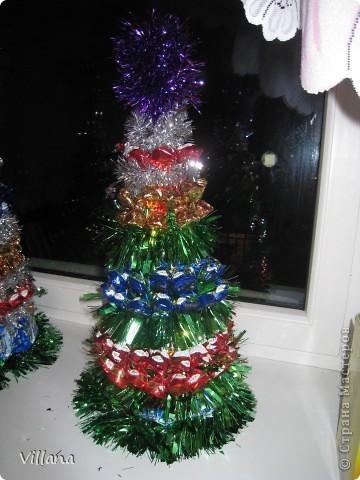 Такие ёлочкие я сделала в подарок своим родственникам и друзьям на Новый Год:))))))))))))))))) фото 3