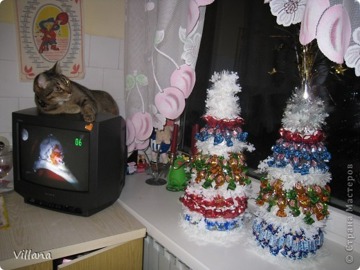 Такие ёлочкие я сделала в подарок своим родственникам и друзьям на Новый Год:))))))))))))))))) фото 6