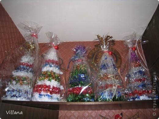 Такие ёлочкие я сделала в подарок своим родственникам и друзьям на Новый Год:))))))))))))))))) фото 7