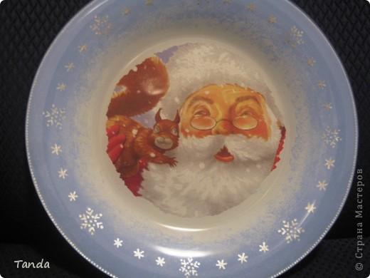 Мая первая тарелочка, которую не стыдно показать людям :). (до этого была самая первая, её никому не покажу).