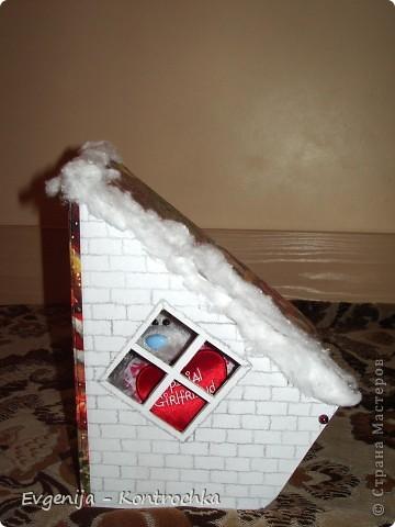 Подарочная коробочка к Новому году своими руками.  фото 4