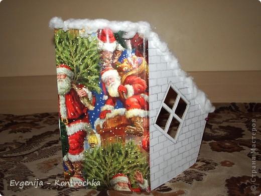Подарочная коробочка к Новому году своими руками.  фото 2