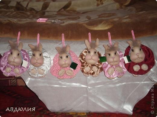 Попросили сделать маленьких заек! Вот какие получились!!! фото 1