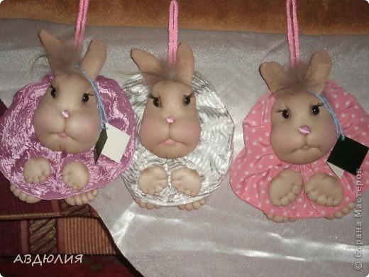 Попросили сделать маленьких заек! Вот какие получились!!! фото 3