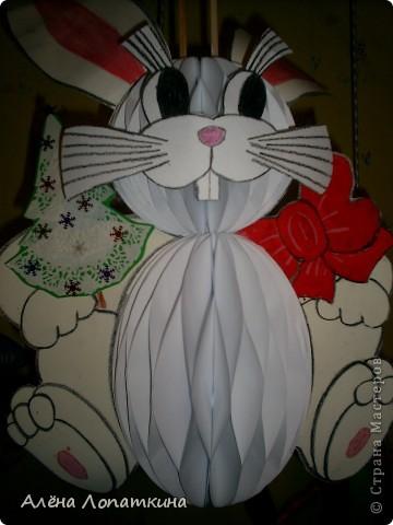 На школьной выставке поделок к Новому году. фото 11