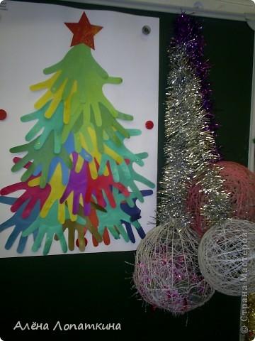 На школьной выставке поделок к Новому году. фото 3