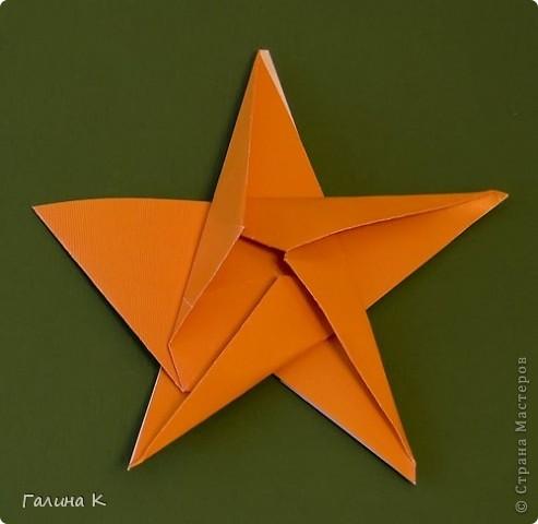 В предновогодние дни звёзды загораются повсюду! Делаем такие звёздочки вместе! фото 11