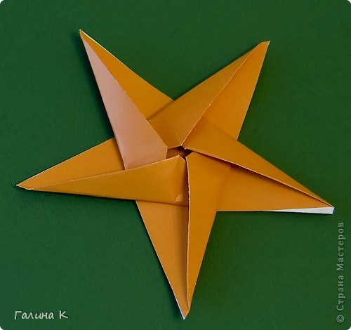 В предновогодние дни звёзды загораются повсюду! Делаем такие звёздочки вместе! фото 14