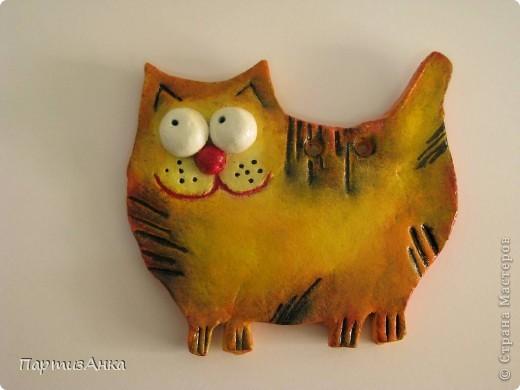 Кошек заказывали? Получите!:)Представляю новую серию  - кошек - она же будет представлена и на ярмарке 22 декабря. Первый рыжик. фото 1