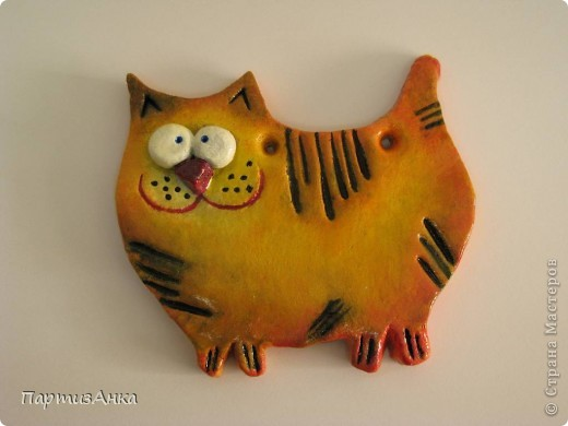 Кошек заказывали? Получите!:)Представляю новую серию  - кошек - она же будет представлена и на ярмарке 22 декабря. Первый рыжик. фото 2