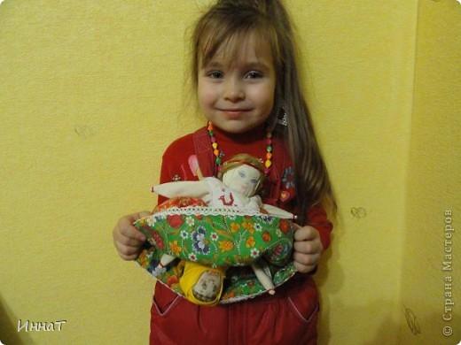 Вот, на конкурс куклы сделала народную куклу перевёртыш девка- баба, но т.к. кукла должна быть сказочным песонажем,то я назвала её Внучка- Бабка. фото 4