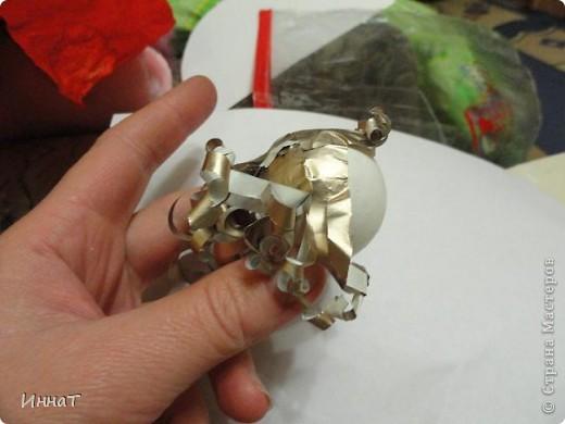Это игрушка на ёлку. Делали с 4-летней дочкой. фото 2