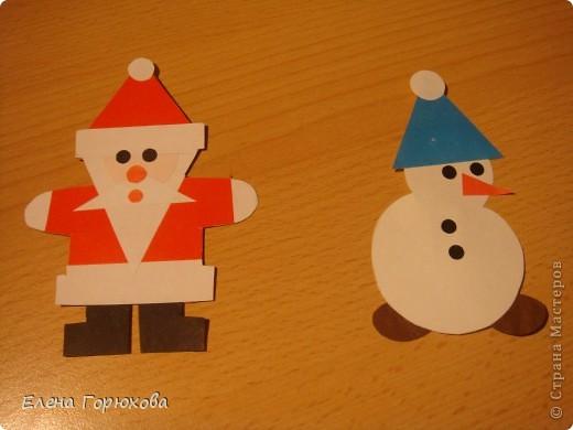 Вот такие магнитики мы будем делать с детишками в подарок на Новый год фото 1