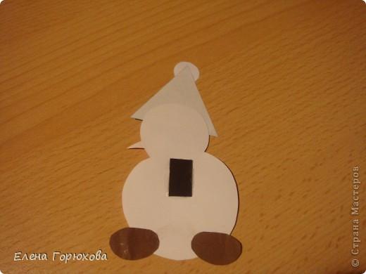 Вот такие магнитики мы будем делать с детишками в подарок на Новый год фото 5