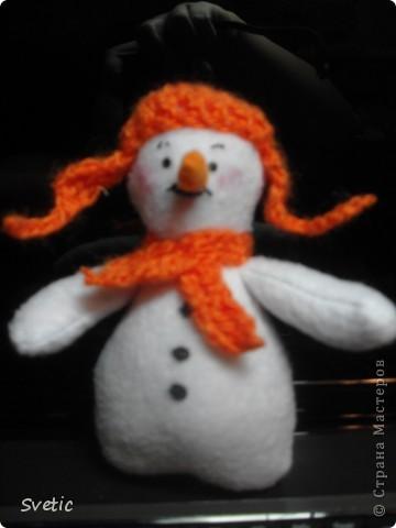 Мой снеговичок фото 1
