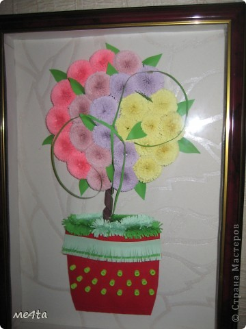 """Вот такое """"Дерево счастья"""" я сделала в подарок подруге!!!"""