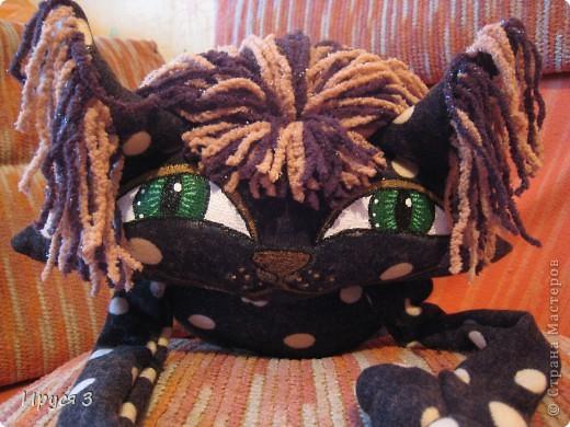 Ещё одна кошка в горошек фото 3