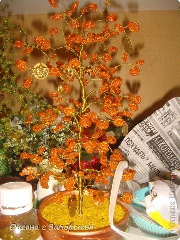 Бисерные деревца фото 2