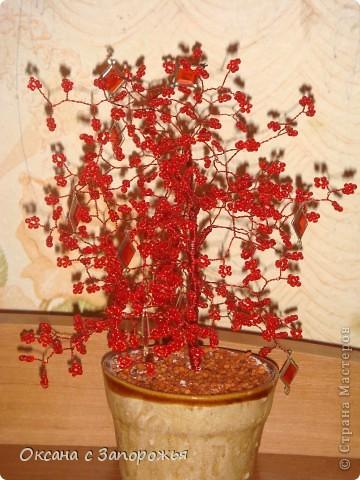 Бисерные деревца фото 3