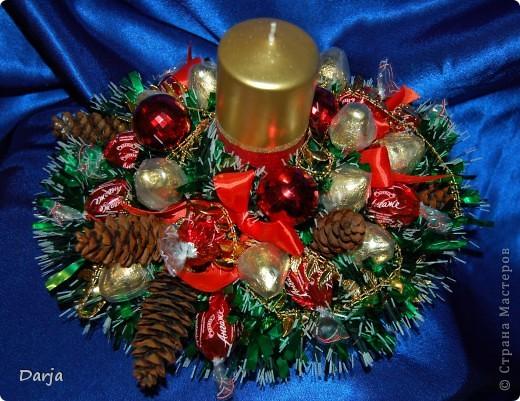 Поделка в садик новогодний букет фото