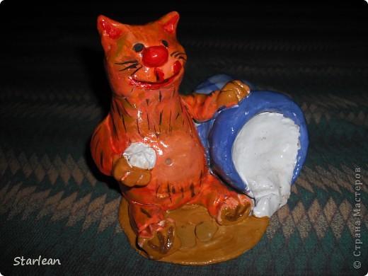 Кот-копилка фото 2