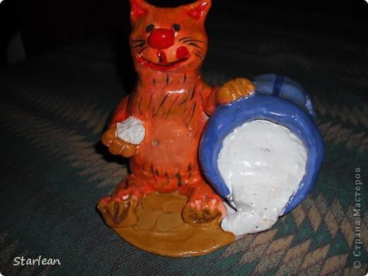 Кот-копилка фото 1