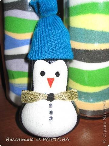 У снеговика появился дружок. фото 2