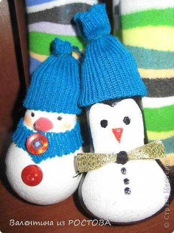 У снеговика появился дружок. фото 1