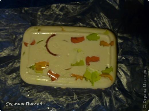 Наше первое мылко !(с цедрой апельсина ) фото 2