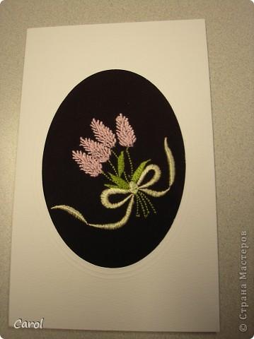 Машинная вышивка. Шелковые нитки. фото 3