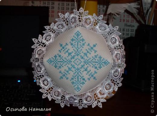"Новогодняя Бискорню ""Снежинка"""
