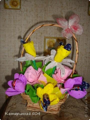 Букет на День Рождение бабушки. Ей понравилось!!))) фото 1