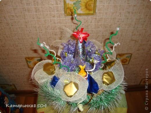 Букет на День Рождение бабушки. Ей понравилось!!))) фото 3