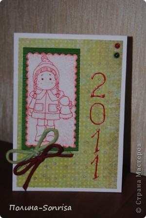Вторая порция открыток к Новому Году фото 8