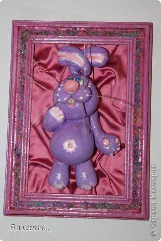 Сиреневый кролик... фото 1