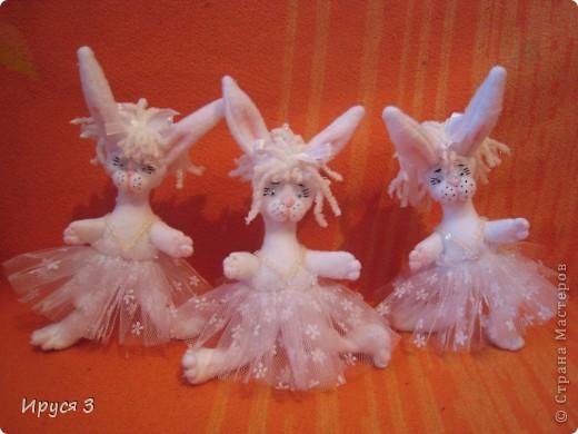 Зайки балерины  фото 4
