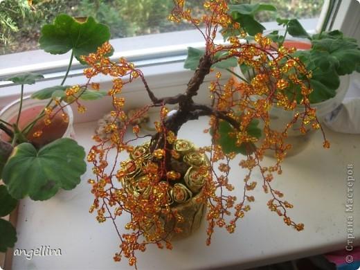 Бисерное дерево фото 3