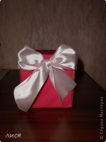 коробочка в собранном виде фото 1