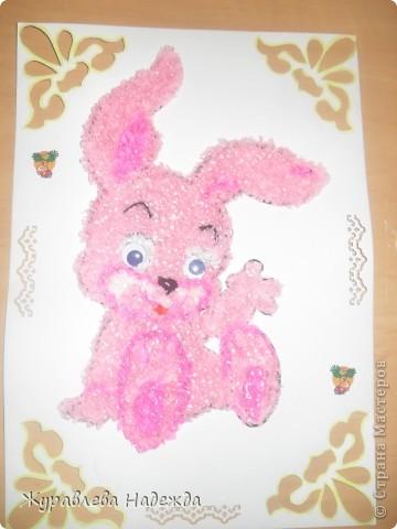 розовый зайка фото 2