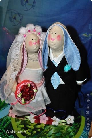 """Собрались тут у подружки родители снова пожениться!  Вот и """"народились"""" вот такие вот Неразлучники! фото 6"""