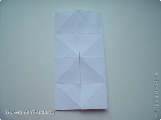 Эту модель я придумала сама специально для наших занятий с детьми накануне Светлого праздника. Несмотря на, возможно, кажущуюся сложность, вся работа состоит из очень известных и простых элементов. Для работы потребуется: - для фигурки ангела  три белых листа обычной офисной бумаги формата А4(из них будем делать квадраты); -  для модели дома два квадрата 20х20 коричневой хозяйственной или пергаментной бумаги.  Знаю, что такую, часто используют на почте. Я ее покупала в строительном супермаркете; - для «звезды Давида» два квадрата 10х10 золотистой бумаги для упаковки подарков и деревянная шпажка, окрашенная в белый цвет. Можно попробовать сделать звезду объемнее. МК здесь: https://stranamasterov.ru/node/4876; - стеклянный прозрачный, довольно закрытый подсвечник (может подойти небольшой стакан) и свеча.    фото 43