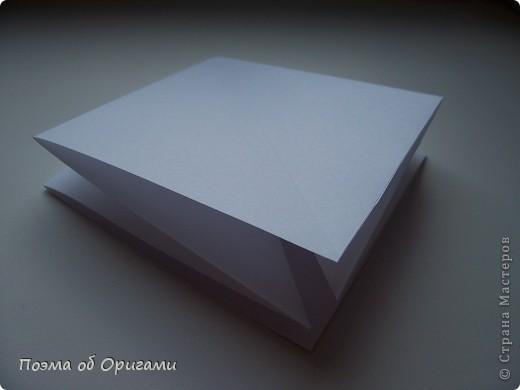 Эту модель я придумала сама специально для наших занятий с детьми накануне Светлого праздника. Несмотря на, возможно, кажущуюся сложность, вся работа состоит из очень известных и простых элементов. Для работы потребуется: - для фигурки ангела  три белых листа обычной офисной бумаги формата А4(из них будем делать квадраты); -  для модели дома два квадрата 20х20 коричневой хозяйственной или пергаментной бумаги.  Знаю, что такую, часто используют на почте. Я ее покупала в строительном супермаркете; - для «звезды Давида» два квадрата 10х10 золотистой бумаги для упаковки подарков и деревянная шпажка, окрашенная в белый цвет. Можно попробовать сделать звезду объемнее. МК здесь: http://stranamasterov.ru/node/4876; - стеклянный прозрачный, довольно закрытый подсвечник (может подойти небольшой стакан) и свеча.    фото 4