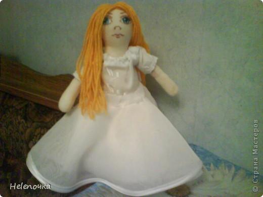 Первый опыт в пошиве простых кукол