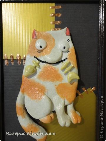 Кот с рыбкой фото 2