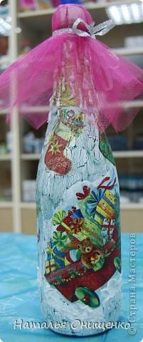 Декор бутылок. Выполнение на заказ к Вашему торжеству фото 24